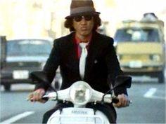 Yusaku Matsuda Story of a detective 松田優作 探偵物語 Japanese Legends, Tough Guy, Vespa, Detective, Movie Stars, Actors & Actresses, Movie Tv, Tv Shows, Dads