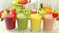 "Smoothies I 4 leckere Varianten I schnell, gesund & lecker i video ========================= Drink Recipes ""S"" ========================= Click the web to the view the video Chicken Breast Recipes Healthy, Healthy Recipes, Drink Recipes, Recipes Breakfast Video, Breakfast Ideas, Check Up, Protein Rich Foods, One Dish Dinners, Healthy Side Dishes"