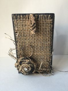 A personal favorite from my Etsy shop https://www.etsy.com/listing/230614948/burlap-rustic-wooden-frame