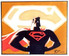 Superman by by Bruce Timm
