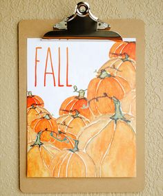11 Free Printables to Welcome Fall via Brit + Co.