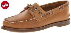Damen Sperry, Authentic Original, Beige - Braun (Sahara) - Größe: 40.5 - Sneakers für frauen (*Partner-Link)