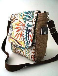 womens backpack purse converts to messenger, shoulder tote bag ,crossbody handbag, crossbody bag ,paisley purse, fits IPAD