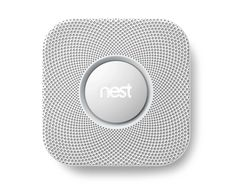 The prettiest smoke alarm you ever did see. with carbon monoxide detection, mobile capability & no more waving a dishcloth at it after you burn something. Room Of One's Own, Terminal, Geek Gadgets, Smart Home Technology, Smoke Alarms, Home Safety, Stuff And Thangs, Cool Tech, Bees Knees
