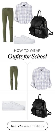 """""""school"""" by cathygodeau-cg on Polyvore"""