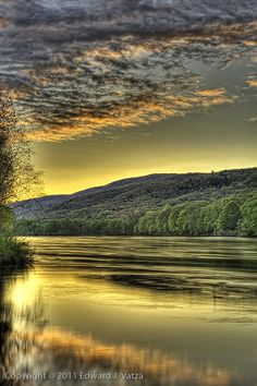 Delaware Water Gap, PA. Possibly my favorite. www.edvatza.com Morning Becomes Electric