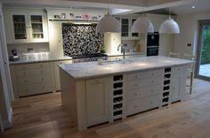 Simple wraparound extension to semi-detached family home. Kitchen 2016, Kitchen Time, Open Plan Kitchen, Kitchen Dining, Kitchen Island, Kitchen Ideas, Kitchen Decor, Extension Google, Extension Ideas