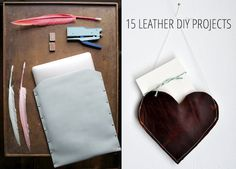 15 Leather DIY Projects