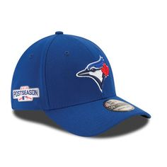 New Era Toronto Blue Jays Royal 2016 Postseason Side Patch 39THIRTY Flex Hat