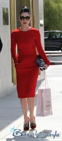 Dramatic Classic, Dita Von Teese, The Vamps, Romantic, Chic, My Style, Red, How To Wear, Closet