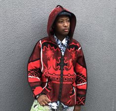 African Traditional Wear, Blanket Coat, Cape Town, Coats, How To Wear, Jackets, Down Jackets, Wraps, Coat