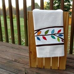 Rustic Kitchen Towel  by:-twiggy and opal