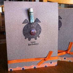 Happy birthday piggy with cash gift for their Piggy Bank- hilarious!!!