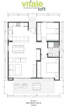 Resultado de imagen de apartamentos de 3 quartos 60 m2