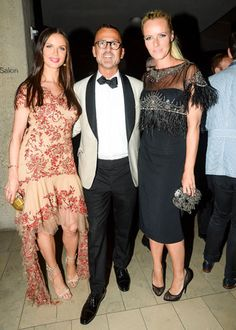 The Style of the 2013 CFDA Awards: BFAnyc.com View LargerView Thumbnails Georgina Chapman and Keren Craig in Marchesa with Steven Kolb