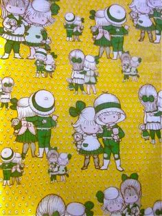 Joan Walsh anglund sheets for children's room