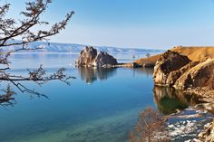 Lake Baikal from Olkhon Island
