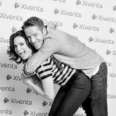 These two.....squeeeee! :D Outlaw Queen is so meant to be!