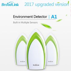Broadlink A1 WIFI Air Quality Detector In-built Temperature Humidity Noise Sensor Smart Home Automation APP Remote Control