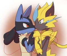 Lucario and Zeroura Pokemon Ships, Pokemon Fan Art, Pokemon Sun, Cool Pokemon, Shining Tears, Best Pokemon Ever, Lucario Pokemon, Deadpool Pikachu, Cute Pokemon Pictures