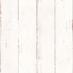 Vliesbehang sloophout wit (dessin 33-255) | Behang | Behang | KARWEI