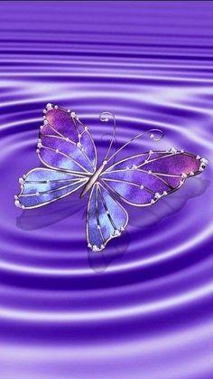 Already needed Schon gebraucht - Unique Wallpaper Quotes Purple Butterfly Wallpaper, Butterfly Background, Flower Phone Wallpaper, Cute Wallpaper Backgrounds, Butterfly Art, Love Wallpaper, Galaxy Wallpaper, Cellphone Wallpaper, Beautiful Flowers Wallpapers