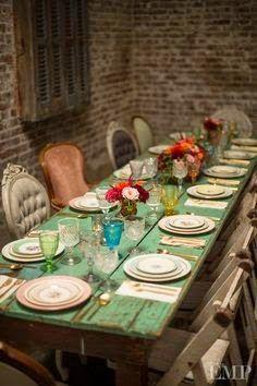Vintage Farmhouse: Tables & Chairs