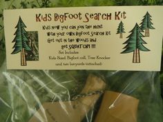 Kids Bigfoot Search Kit Squatch Call Bigfoot by TheCopperFinch, $69.90