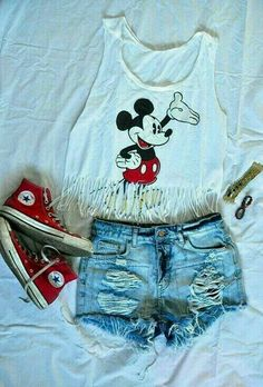 💗ootd💗 cute disney outfits, disney clothes, adorable teen outfits, disney world Disney World Outfits, Cute Disney Outfits, Disneyland Outfits, Cute Summer Outfits, Outfits For Teens, Casual Outfits, Disney Clothes, Disneyland Outfit Summer, Disneyland Vacation