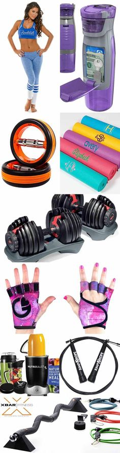 Gift Guide – The Best Fitness Gifts. We love giving and receiving cool fitness gadgets and clothing, so we decided to put together this list of what we consider the Best Fitness Gifts right now │ TheFitBlog.com