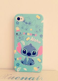 Oh my!! Stitch phone case, so cute!!!