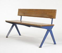 Bench by Jean Prouve