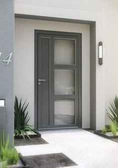 Fiche technique porte d'entrée PVC - - Eco Concept Habitat Decor, Furniture, House, Home, Modern House, House Exterior, Modern, Tall Cabinet Storage, Exterior
