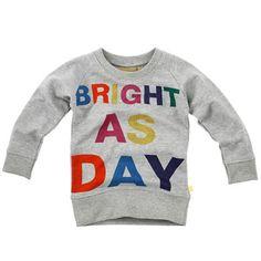 """Boys & Girls """"Bright as Day"""" sweatshirt"""