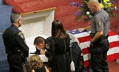 An Oklahoma City police dog named Kye was laid to rest Thursday with full honors after dying in the line of duty.