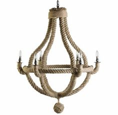 Are you interested in our natural rope chandelier? With our quirky rope ceiling light you need look no further.