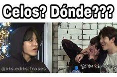Jejej Memes Bts Español, Vkook Memes, Funny Memes, Taekook, Taehyung, Bts Jungkook, S Videos, Vkook Fanart, K Pop Music