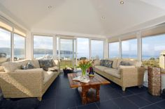 Open views just for you - top this off with the fact that this house overlooks great place for spotting. Cottages In Wales, Welsh Cottage, Luxury Holiday Cottages, Luxury Holidays, Great Places, Dining Bench, Top, House, Furniture