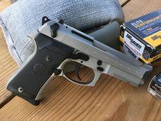 Gun Review: Beretta 92 Compact INOX 9mm Pistol, Beretta's 92 Compact INOX Model.