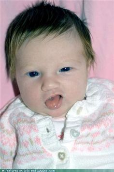 Critical Funny Baby Face