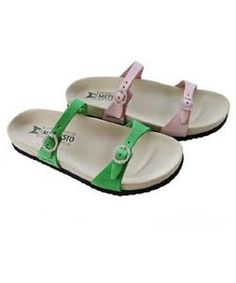 cb4faa644 NEW Mephisto Sydel Womens Sandals Green US 8 EU 38