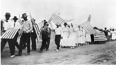 Parade organized to encourage donations and recruit volunteers for the Red Cross war-time services in Paint Rock, Texas in Red Cross, World War I, Volunteers, Texas, Rock, History, Painting, Beautiful, Stone