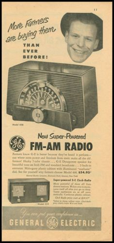 GE New Super-Powered FM-AM Radio | More farmers are buying them!
