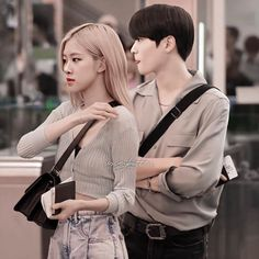 Kpop Couples, Cute Couples, Blackpink And Bts, Jaehyun Nct, Bae Suzy, Couple Outfits, Exo Members, Korean Actors, Kpop Girls