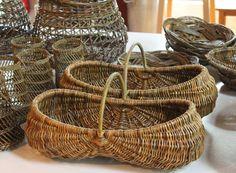 Hjørnholms Pileblog: Kurve på bestilling / Basket orders. Frame baskets.
