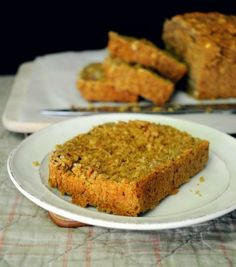 Vegan Pumpkin Bread in the Blender by Hungry Healthy Girl