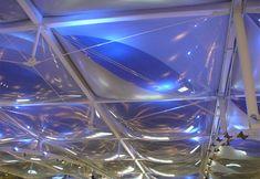 ETFE foil cushions, shopping-complex Nr 2
