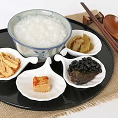 Teochew Moey (Teochew Rice Porridge)...a simple lunch that can be ready in 20 minutes