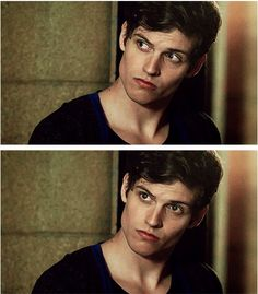 Isaac Lahey [Daniel Sharmen] THAT JAWLINE! THAT BONE STRUCTURE. God spent a little extra time on this fine specimen