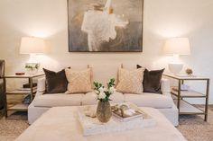Lovely Living // interior design by Lisa Palmer of SummerHouse // www.alwayssummerblog.com